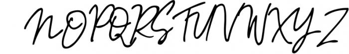 Sinteria Signature Font UPPERCASE
