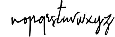 Sinteria Signature Font LOWERCASE