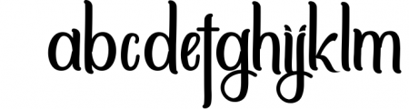 Sittella Font LOWERCASE
