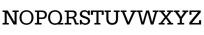 SILverOpti Font UPPERCASE