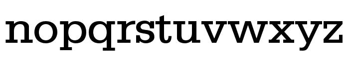 SILverOpti Font LOWERCASE