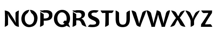 SINGAPOLENG regular Font UPPERCASE