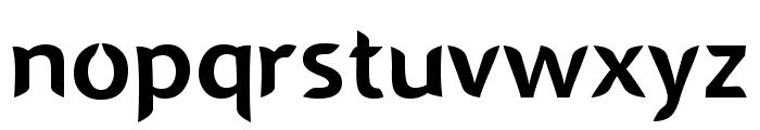 SINGAPOLENG regular Font LOWERCASE