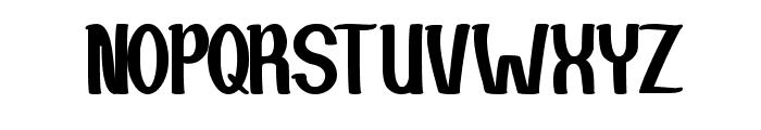 Si Cantik Font UPPERCASE