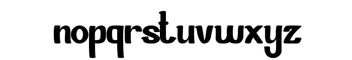 Si Cantik Font LOWERCASE