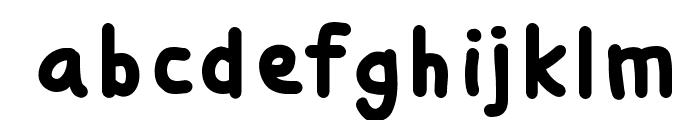 Si Kancil Font LOWERCASE
