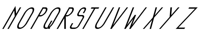 Si LuNcaiItalic Font UPPERCASE