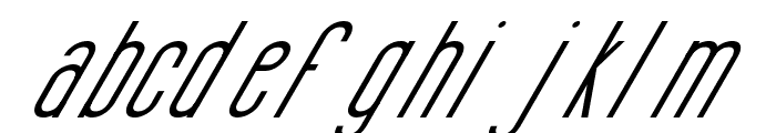 Si LuNcaiItalic Font LOWERCASE