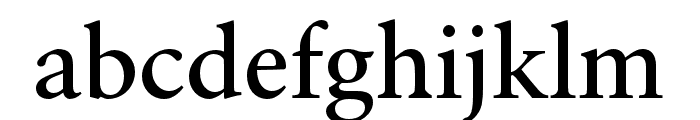 Sibila Font LOWERCASE