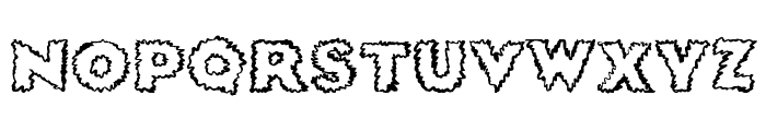 SickDream Font LOWERCASE