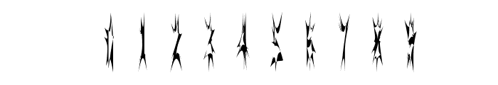 SidTheSpider Font OTHER CHARS