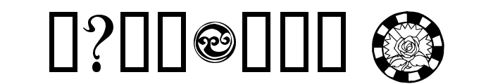 Sidhe Noble Font OTHER CHARS