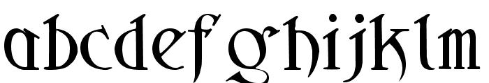 Sidhe Noble Font LOWERCASE