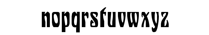 Siegfried Font LOWERCASE