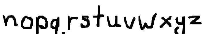 Siera'sFont3 Font LOWERCASE