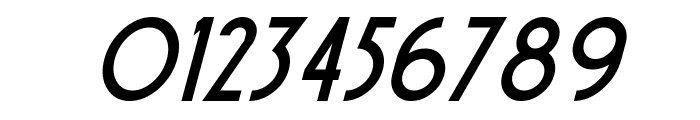 Sierra Madre Italic Font OTHER CHARS
