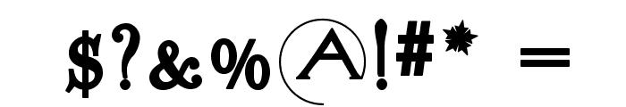 SigismundoDiFanti Font OTHER CHARS