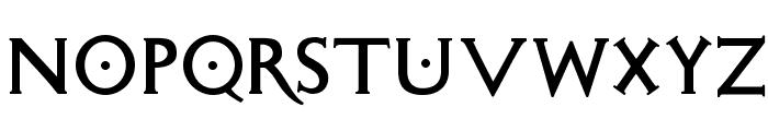 SigismundoDiFanti Font UPPERCASE