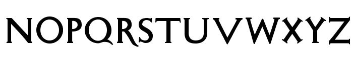 SigismundoDiFanti Font LOWERCASE