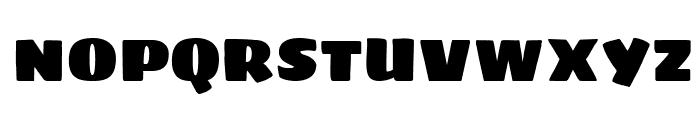 Sigmar Font UPPERCASE