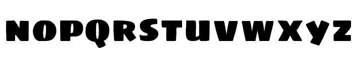 Sigmar Font LOWERCASE