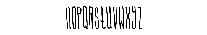 Signal To Noise Font LOWERCASE