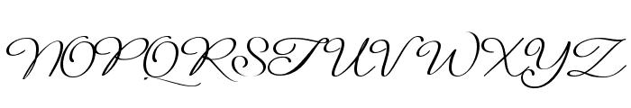 Signarita Louisse Light Font UPPERCASE