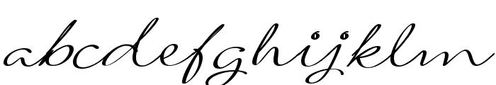 Signarita Louisse Light Font LOWERCASE