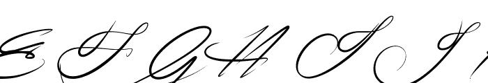 Signarita Zhai Font UPPERCASE