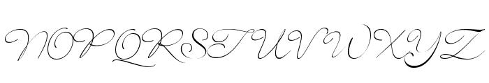 SignaritaLouisseThin Font UPPERCASE