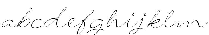 SignaritaLouisseThin Font LOWERCASE