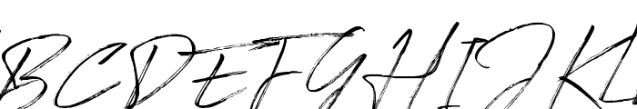 Signatour Font UPPERCASE