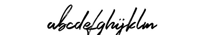 Signatour Font LOWERCASE