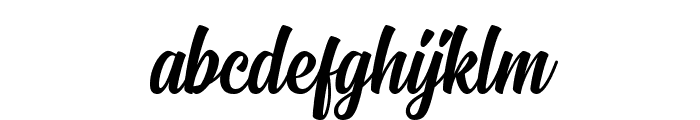 Signatra DEMO Font LOWERCASE