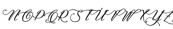 Signature of the Ancient Font UPPERCASE