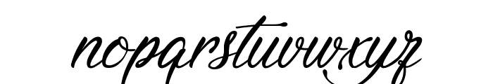 Signature of the Ancient Font LOWERCASE