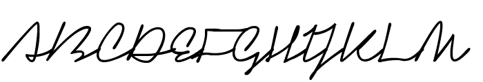 Signerica Fat Font UPPERCASE