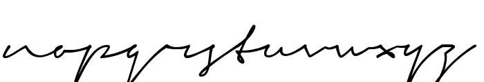 Signerica Fat Font LOWERCASE