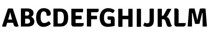 Signika-Bold Font UPPERCASE