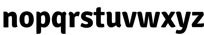 Signika-Bold Font LOWERCASE