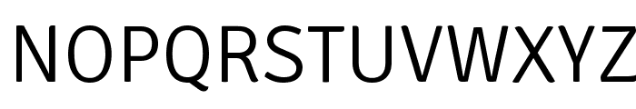Signika-Light Font UPPERCASE