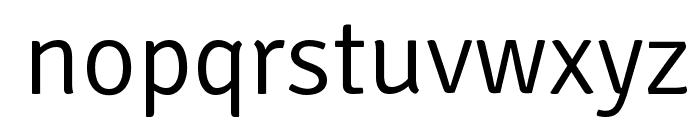 Signika-Light Font LOWERCASE