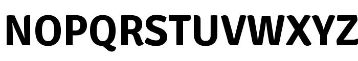 Signika Negative Bold Font UPPERCASE