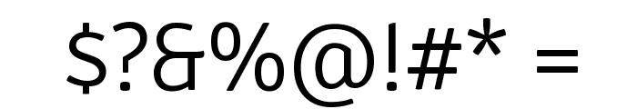 Signika Negative Light Font OTHER CHARS