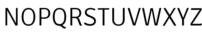 Signika Negative Light Font UPPERCASE