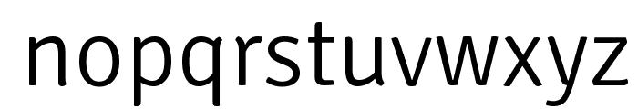 Signika Negative Light Font LOWERCASE