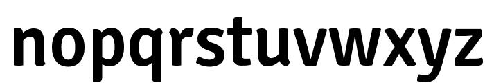 Signika Negative Semibold Font LOWERCASE