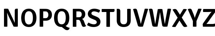 Signika-Semibold Font UPPERCASE
