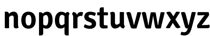Signika-Semibold Font LOWERCASE
