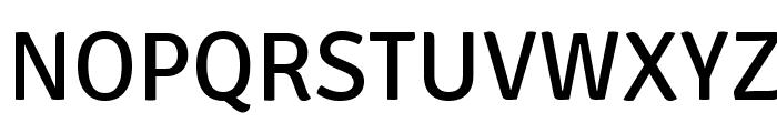 Signika Font UPPERCASE